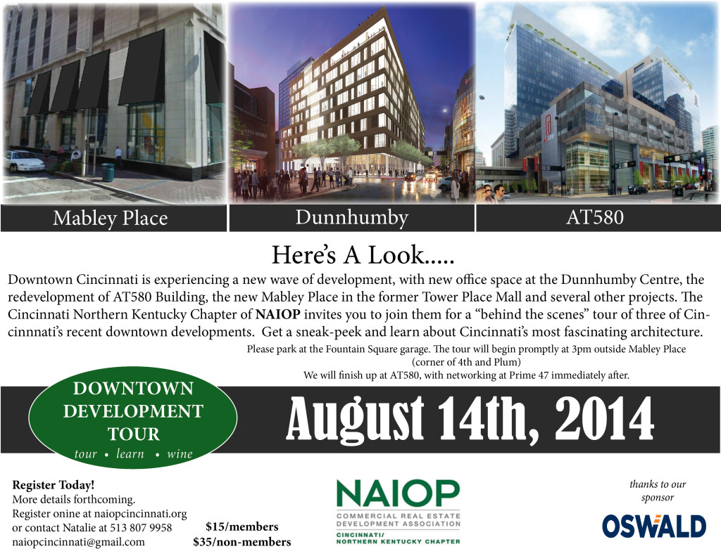 Downtown Tour Save the date