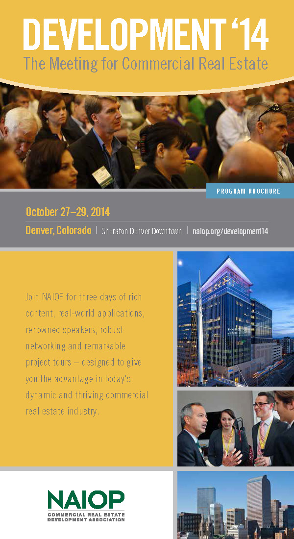 Development 14′:  The Meeting For Commercial Real Estate