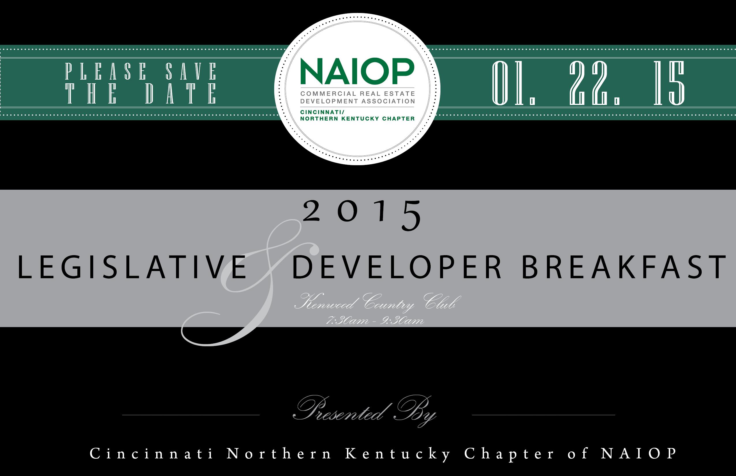 Legislative Developer Breakfast