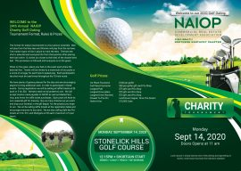 2020 Golf Outing Trifold Front